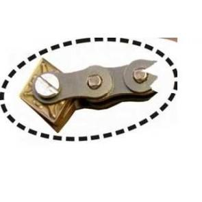2 x 2 mtr. ketting voor Kolibri Mini